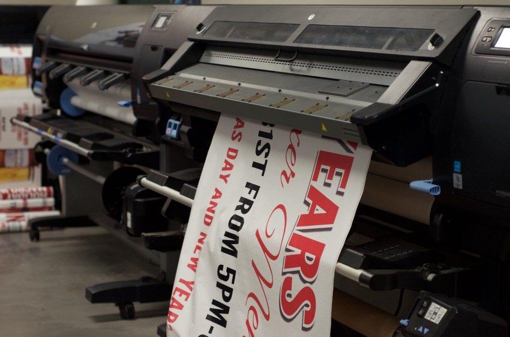 CCB Sign Shop Printer